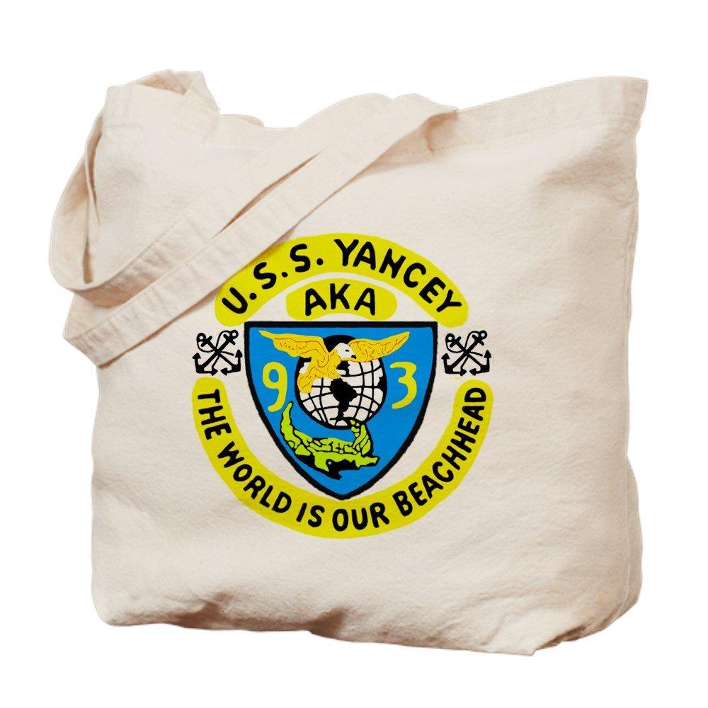 CafePress – USS Yancey ( aka 93 ) – ナチュラルキャンバストートバッグ、布ショッピングバッグ M ベージュ 0171619250E9484 B07BCSPG5V M