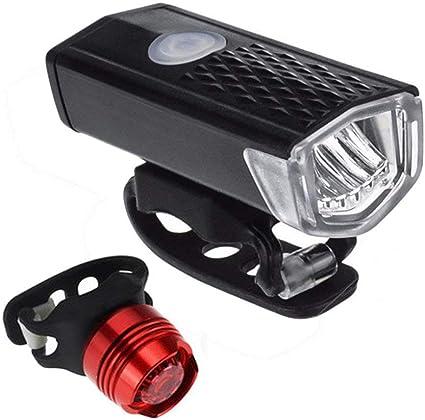 VTC Bicyclette YiGaTech Lumi/ère V/élo USB Rechargeable Puissante Lampe V/élo Eclairage Phare Avant Et Arri/ère V/élo LED USB Rechargeable Imperm/éable pour Cyclysme VTT