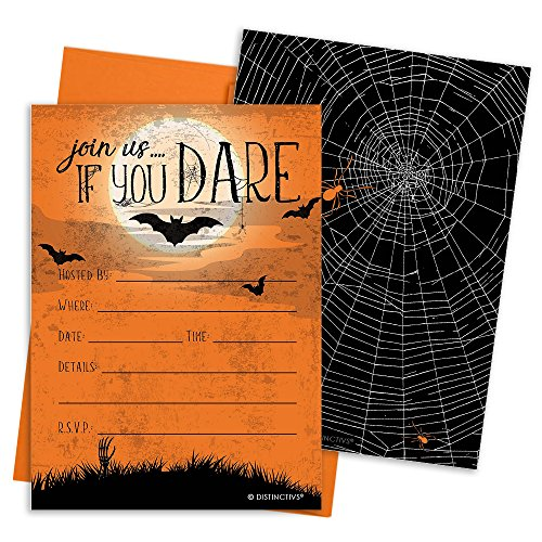 Invitations Halloween Party (Halloween Party Invitation Cards and Envelopes, 12)