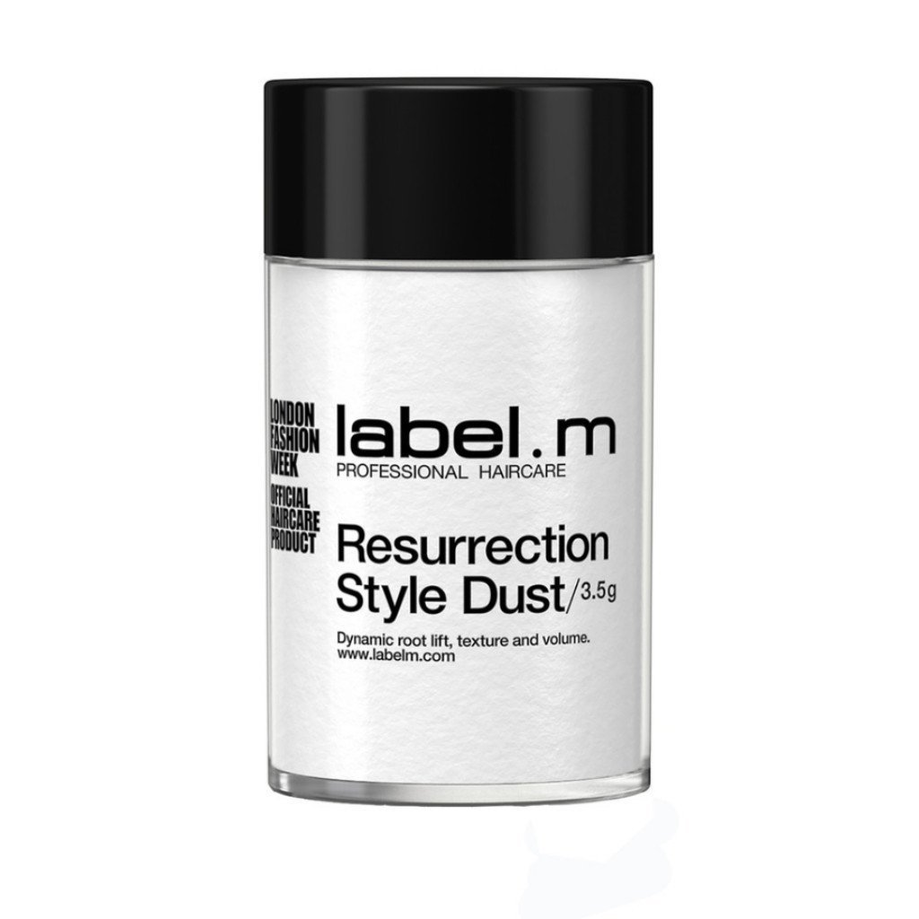 Label.M Resurrection Style Dust (3.5g) Volumizing & Thickening Powder Adds Lift & Fullness. Extreme Root Lifting. Thin & Fine Hair Types by Label.m