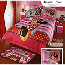 Minnie Mouse Comforter SET / Twin by Kitty4u
