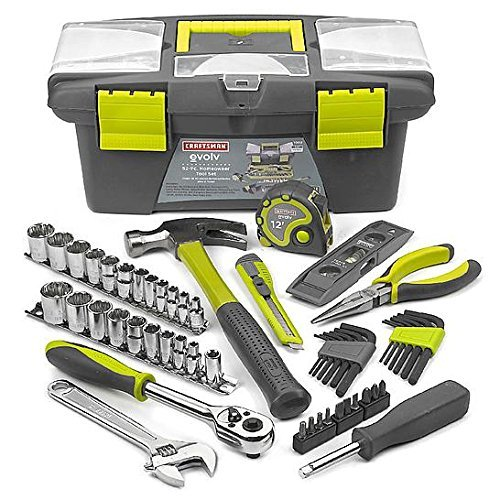 Craftsman Evolv 52 pc. Homeowner Tool Set – Model 1003