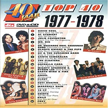 Various Artists Top 40 1977 1978 Cd Dvd 20 Tracks Amazon