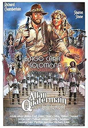 Allan Quatermain and the Lost City of Gold - Authentic