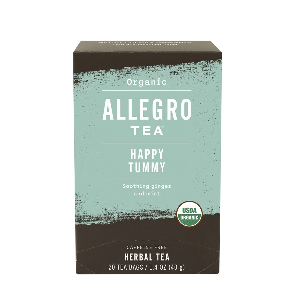Allegro Tea, Organic Happy Tummy Tea Bags, 20 ct by Allegro Coffee