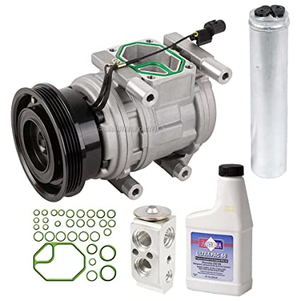 Amazon.com: AC Compressor w/A/C Repair Kit For Kia Sportage & Hyundai Tucson - BuyAutoParts 60-82062RK New: Automotive