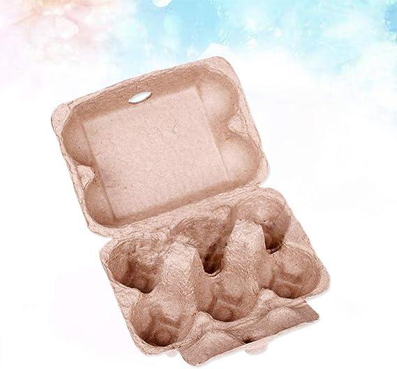Balacoo - 10 cajas de huevos para huevos (6 unidades): Amazon.es: Grandes electrodomésticos