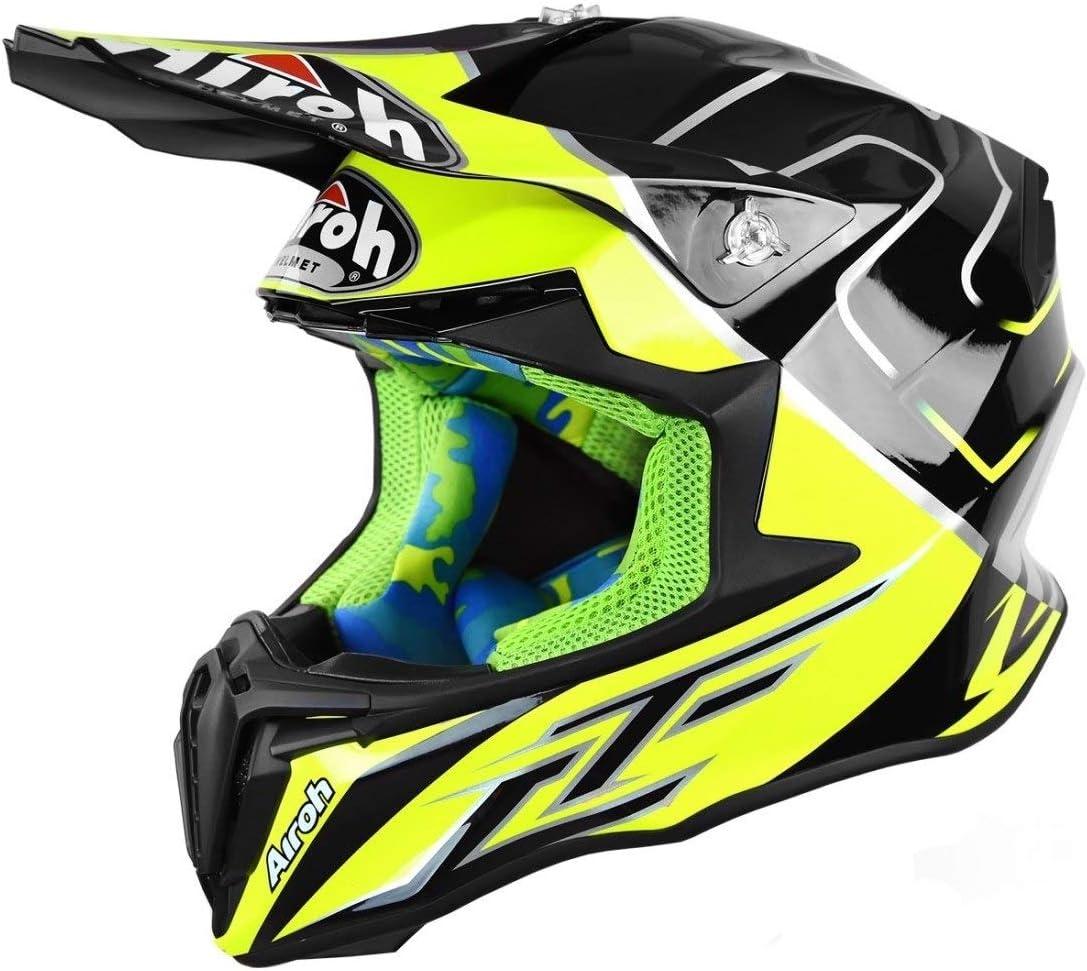 XS Qtech Childrens KIDS MOTOCROSS MX Style Helmet BMX Quad Bike Quasar Orange