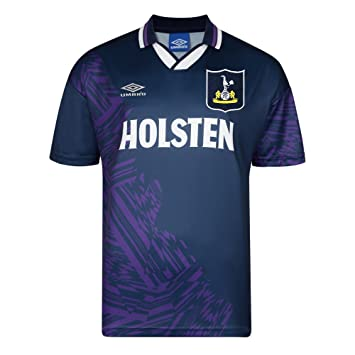 more photos 3eba6 de4cd Official Retro Tottenham Hotspur 1994 Away Umbro Retro Shirt 100% POLYESTER