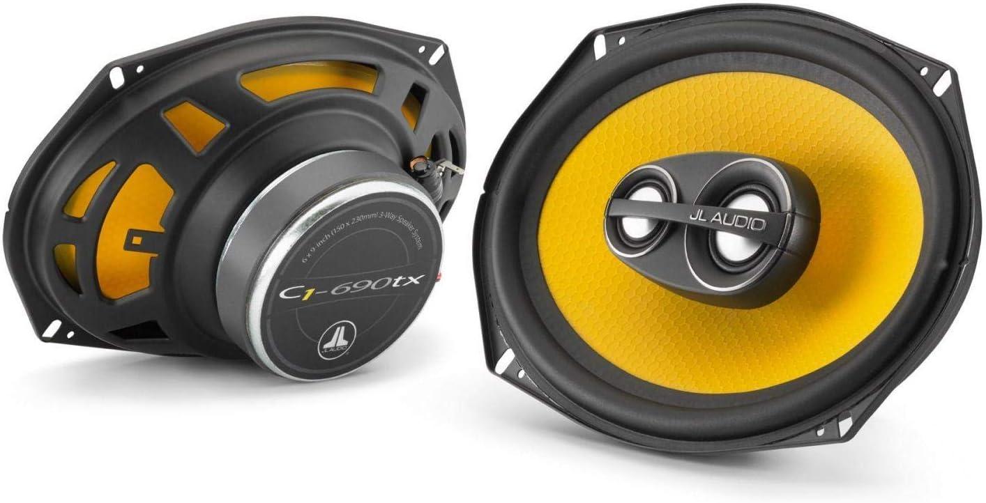 "JL Audio C1-690tx 6"" X 9"" 3-Way Coaxial Car Audio Speakers"