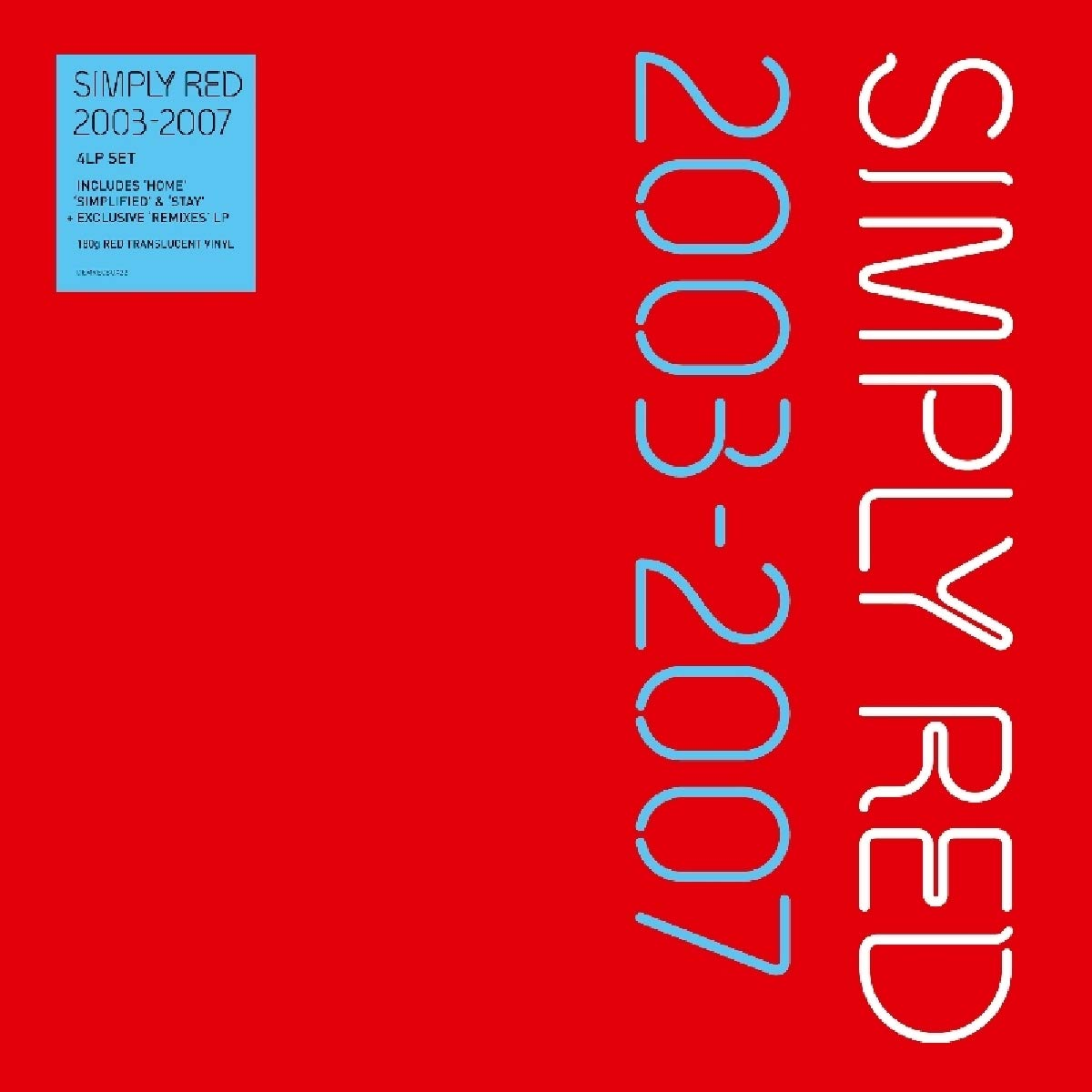 Vinilo : Simply Red - 2003-2007 (Boxed Set, United Kingdom - Import, Oversize Item Split)