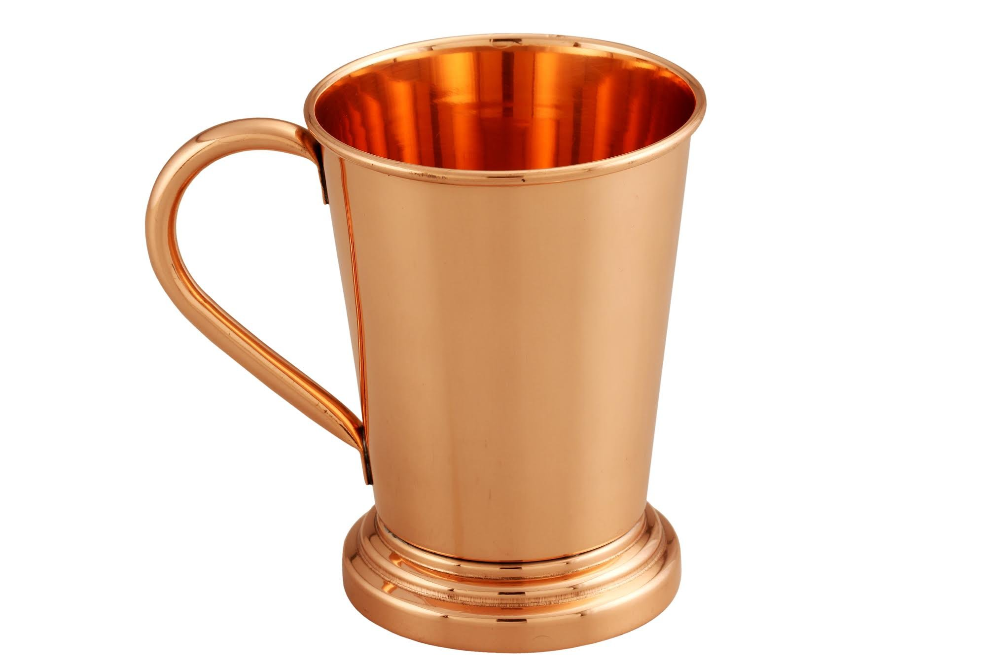 Melange 100% Authentic Copper Artisan Collection Moscow Mule Mug, Size-16 Oz, Set of 4 Mugs by Melange