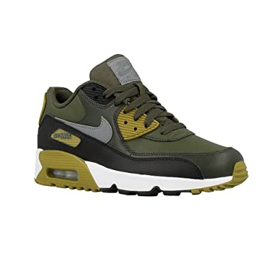 check out 25ff2 0bb91 Nike Big Kids Air Max 90 Leather Running Shoes