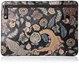 Ted Baker Men's TIGGS Printed Leather Pouch, black O/S