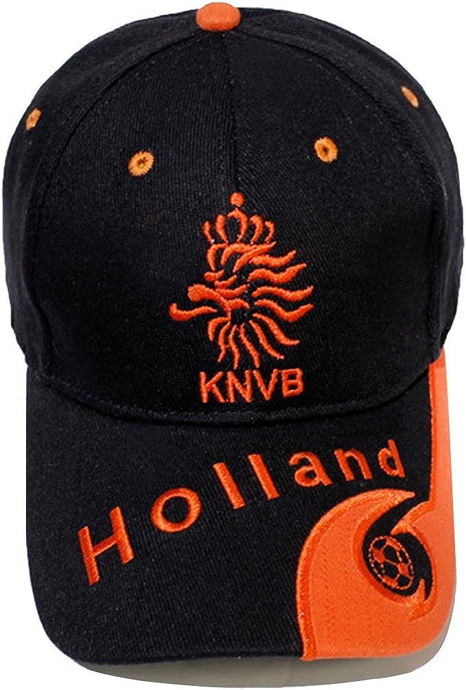 Rocita Sombrero de béisbol de algodón Unisex Gorro de béisbol Bordado del país Ajustable para Fans del fútbol (Holland): Amazon.es: Ropa y accesorios