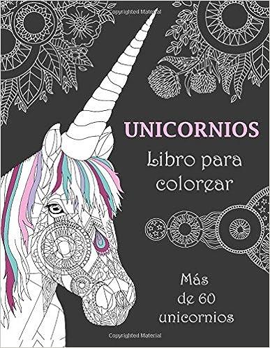 libros para colorear de unicornios para niños para adultos