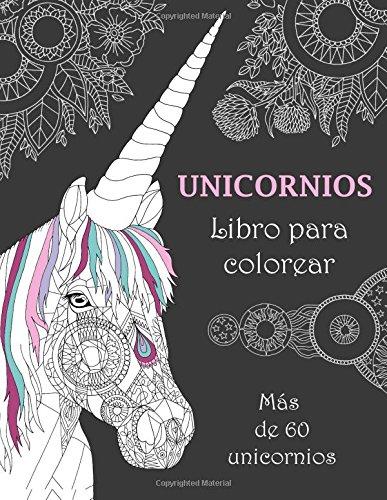 Unicornios Libro Para Colorear Más De 60 Unicornios Amazones
