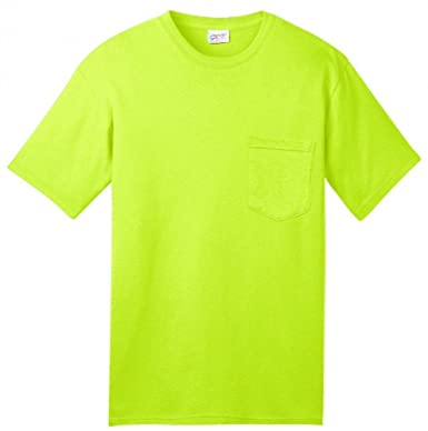 0a81b0a6 Image Unavailable. Image not available for. Color: Blackout Tee's American  USA Made Safety Green ...
