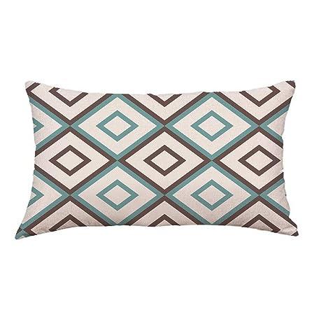 VJGOAL Moda Casual líneas de impresión sofá Cama decoración ...