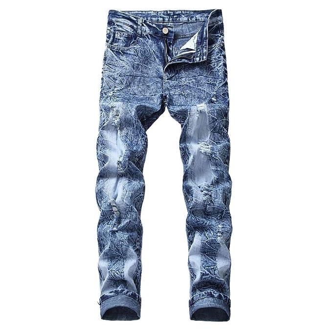 Sylar Pantalones Vaqueros Hombres, Moda Personalidad ...