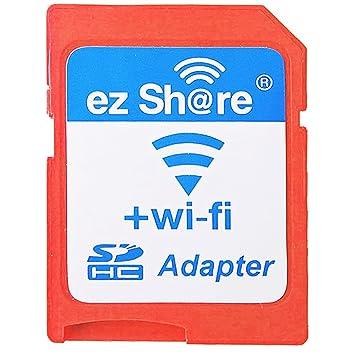 EZ Compartir Wifi Adaptador de tarjeta SD WiFi Wireless lector de tarjetas microSDHC de alta velocidad 1,5 MB/s Max Soporte tarjeta micro SD de 32 GB