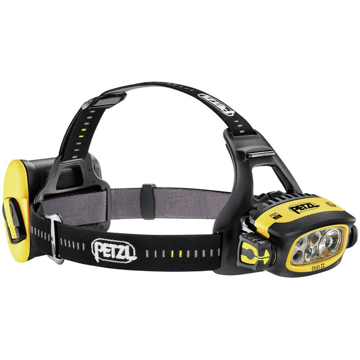 Petzl Duo Z2 Stirnlampe Gelb 2019 Stirn-Lampe