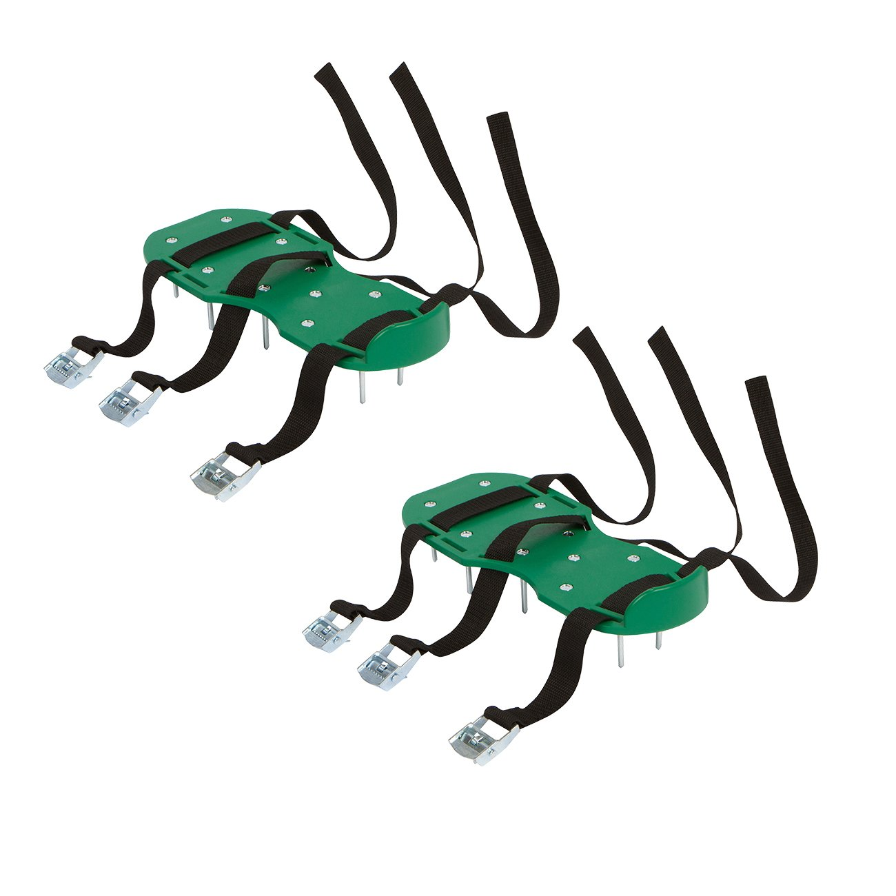 3 Buckle Lawn Aerator Shoes with Adjustable Straps by Trademark Innovations by Trademark Innovations