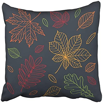 Amazon com: Throw Pillow Covers Decorative Cases Fall of The