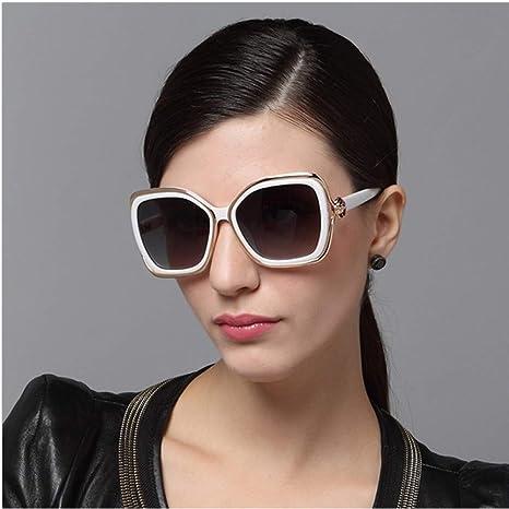Yangjing-hl Gafas de Sol de Flor de Personalidad Gafas de ...