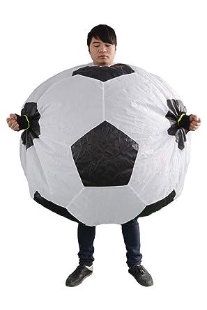 Amazon.com: HAOCOS - Disfraz inflable de fútbol para adultos ...