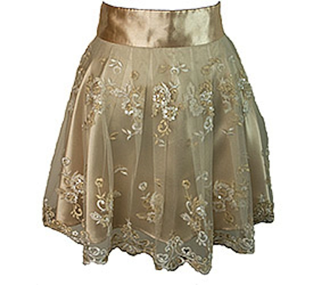 Heavenly Hostess Champagne Ivory Grace Apron-One Size by Heavenly Hostess