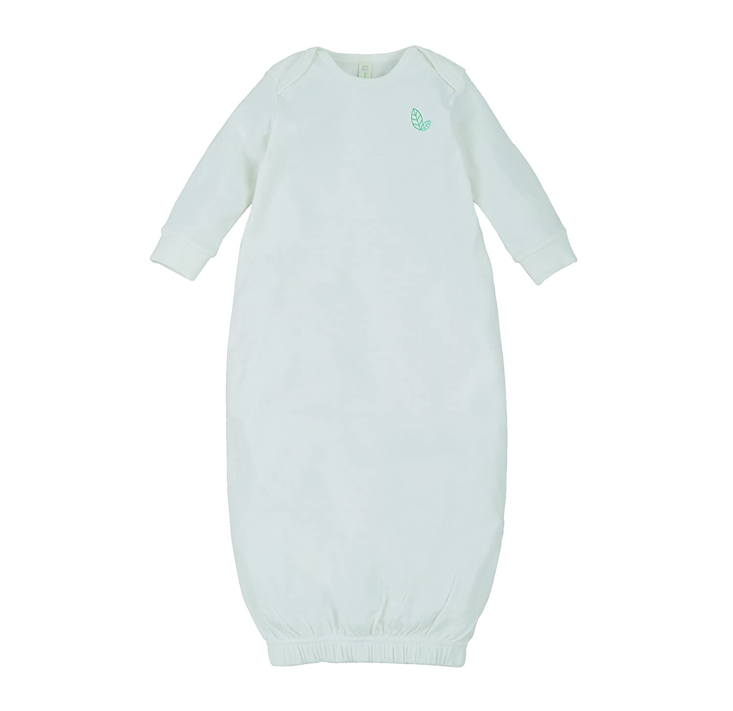 Sense Organics Unisex Baby Nightgown Off-White 8880710