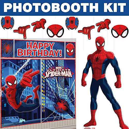 Spiderman Ultimate Photo Booth Kit