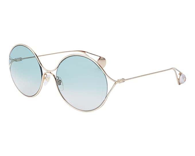 ba043d47c8 Gucci GG0253S GOLD GREEN SHADED women Sunglasses  Amazon.co.uk  Clothing