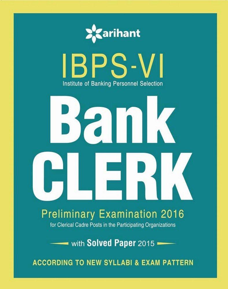 Buy Ibps Vi Bank Clerk Preliminary Examination Success Master Book