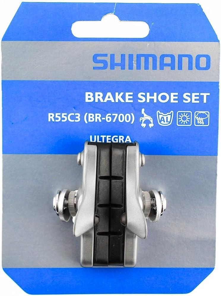 SHIMANO ULTEGRA 6700 BRAKE BICYCLE BRAKE PADS W// HOLDERS