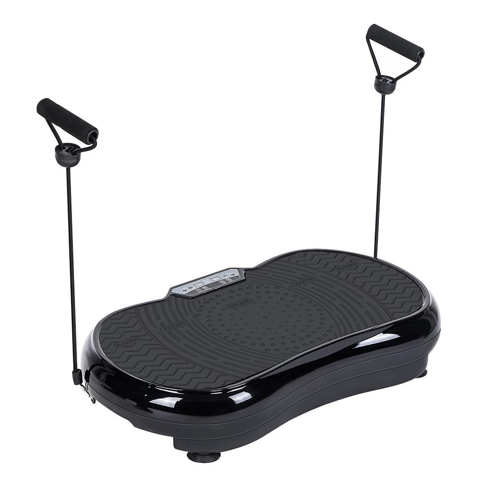 Cocoarm Vibration Plate Exercise Machine,Full Body Vibration Platform Massage Machine Fitness with Pulling Rope