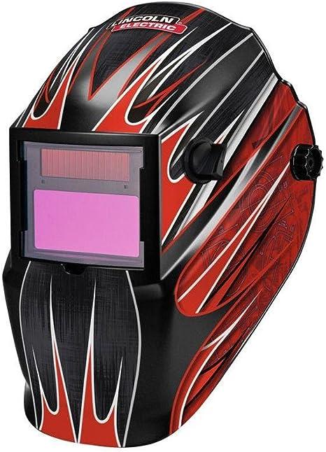 Dark Sphera III Red Edelstahl Kopflicht