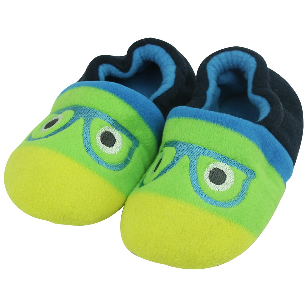Forfoot Girl/Boy/Little Kid Warm Comfy Indoor Slip-on Slippers with Soft Sole