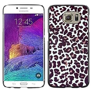iKiki Tech / Estuche rígido - Fur Pattern Dots Animal Fashion - Samsung Galaxy S6 SM-G920