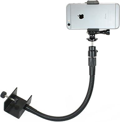 Livestream Gear - Soporte de abrazadera ajustable para smartphone ...