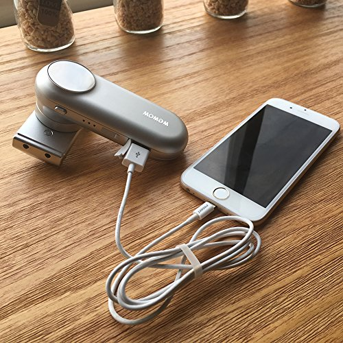 Wewow Silver Fancy Smartphone Stabilizer & Powerbank In One by Wewow (Image #6)