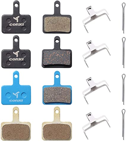 4 Pairs Bike Disc Brake Pads For Tektro Shimano M395 Resin M446 M445 M525 Orion