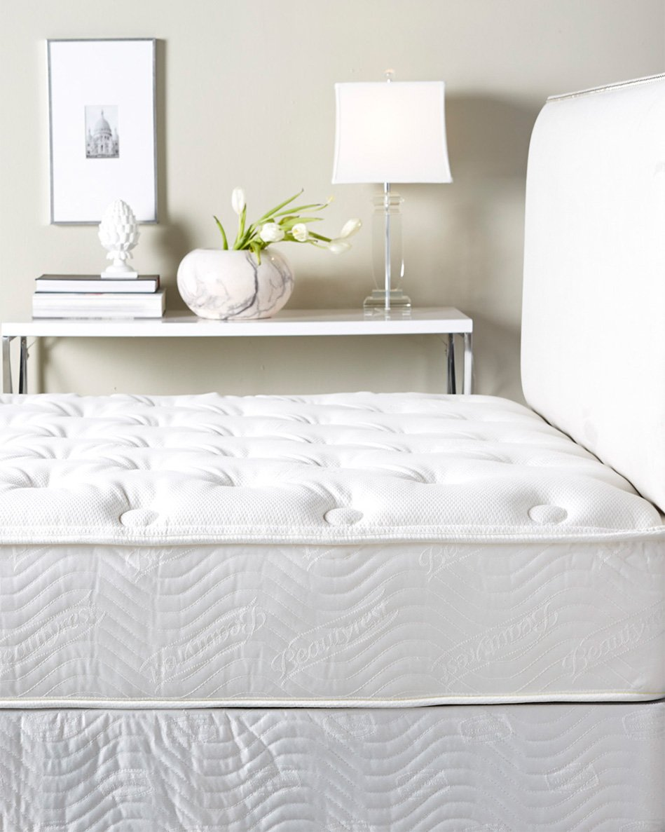 W Hotels Queen Bed - Plush Top Mattress and Boxspring