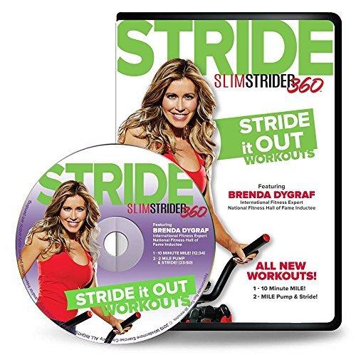 Brenda Dygraf Stride It Out Workouts DVD - Brenda Pump