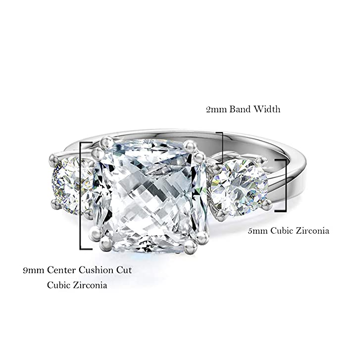 Amazon.com: Samie Collection Meghan Markle anillos de ...