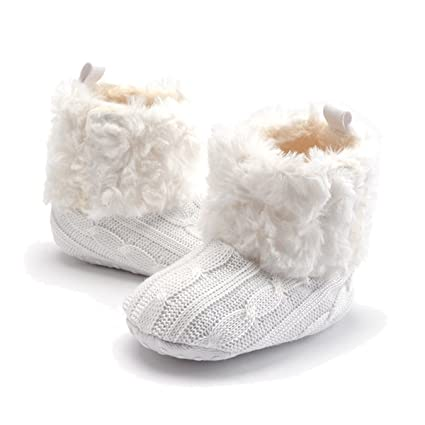 887f8121 TININNA Zapatos Botas Invierno Cálido Para Bebé Niños Niñas Mantenga Cálida  Nieve Suave Suela Botas de