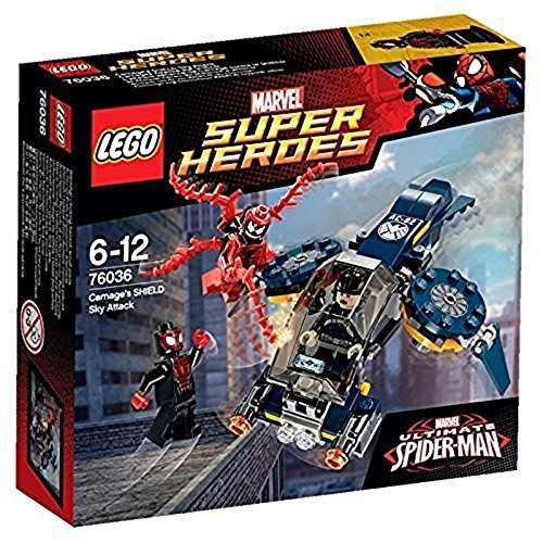 LEGO Super Heroes Carnages Shield Sky Attack - 76036