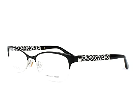 9ec8234a4295 Image Unavailable. Image not available for. Color  New Jimmy Choo JC 106  J9B Black Palladium Glitter Frame Square Eyeglasses 52