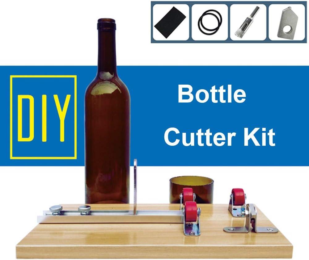 Máquina del Cortador De La Botella De Cristal para La Botella Cuadrada Y Oval Redonda, Herramienta De Corte para Los Proyectos De DIY
